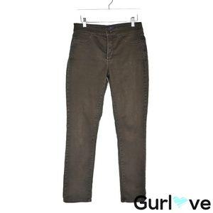 NYDJ Brown Straight Leg Jeans Size 6